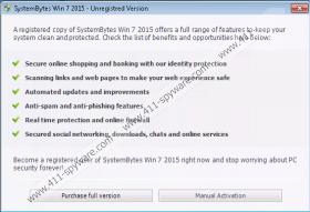 SystemBytes Win 7 2015
