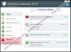 Protective Antivirus 2015