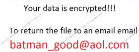 Batman_good@aol.com Ransomware