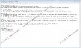 CryptFile2 Ransomware