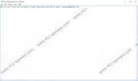 Savepanda@india.com Ransomware