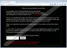 UnblockUPC Ransomware