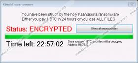 Kaandsona Ransomware