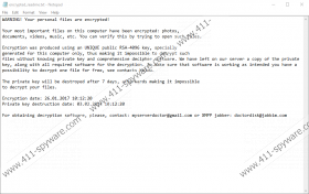 Zekwacrypt Ransomware