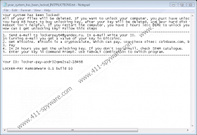 LockerPay Ransomware