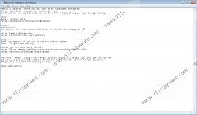 Imsorry Ransomware
