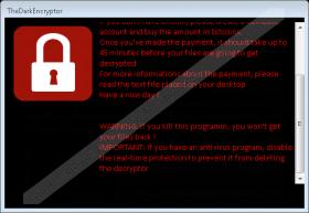 TheDarkEncryptor Ransomware
