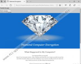Diamond Computer Encryption Ransomware