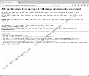 '.Locked_file File Extension' Ransomware