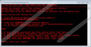 Pendor Ransomware