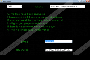 Allcry Ransomware