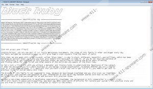 BlackRuby Ransomware