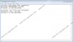 Rarucrypt Ransomware