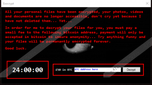 Exocrypt Ransomware