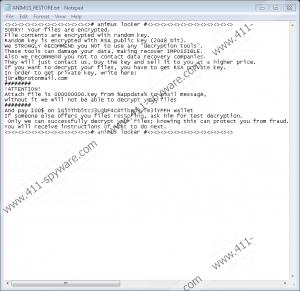 AnimusLocker Ransomware