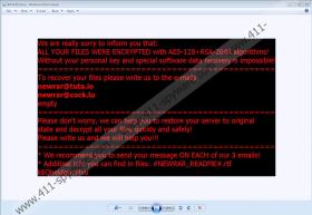 Matrix-NEWRAR Ransomware
