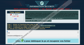 French MoWare H.F.D ransomware