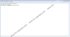 help@decrypt-files.info Ransomware