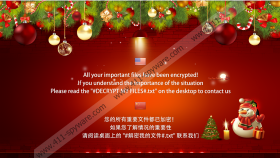 FilesLocker-Christmas Ransomware