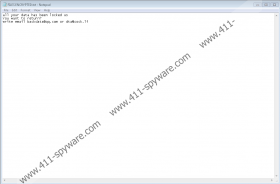 Backdata@qq.com Ransomware