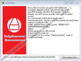 Delphimorix Red Ransomware