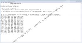 Hermes666 Ransomware