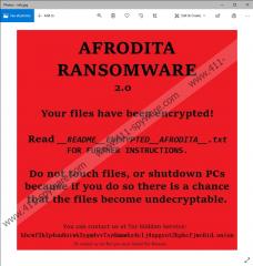 Afrodita Ransomware