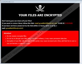 GTF Ransomware