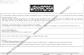 WANNACASH NCOV Ransomware