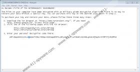 Wannacry666 Ransomware