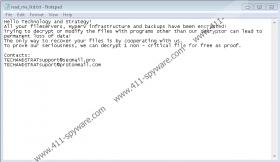 TechandStrat Ransomware