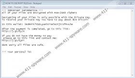 Snopy Ransomware