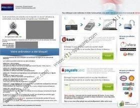 Polizei Control Department Gegen Cyberkriminalität Virus