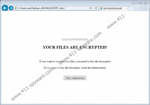 Sad Ransomware